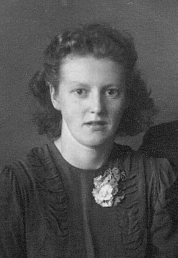 Ragnhild Rasmussen in 1941