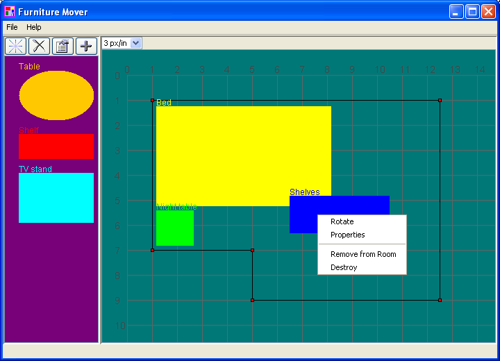 Furniture Mover screenshot