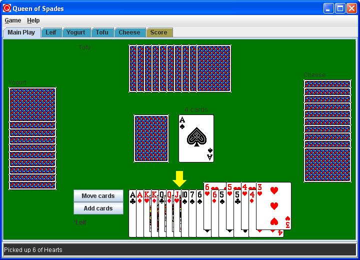 Queen of Spades screenshot