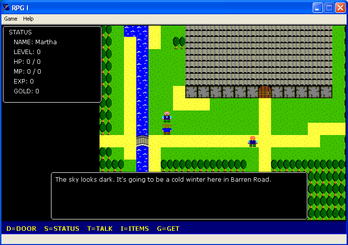 RPG screenshot